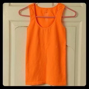 Bright Orange Super Soft Ribbed Tank 💓😍